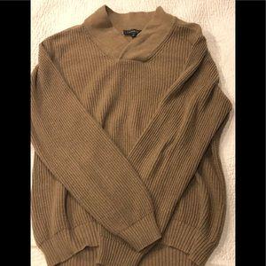 Men's Express tan sweater!